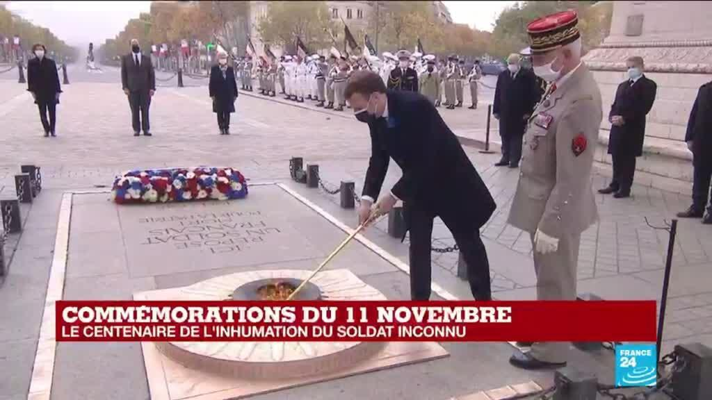2020-11-11 11:10 Commémorations du 11-Novembre : comment a été choisi le Soldat inconnu ?