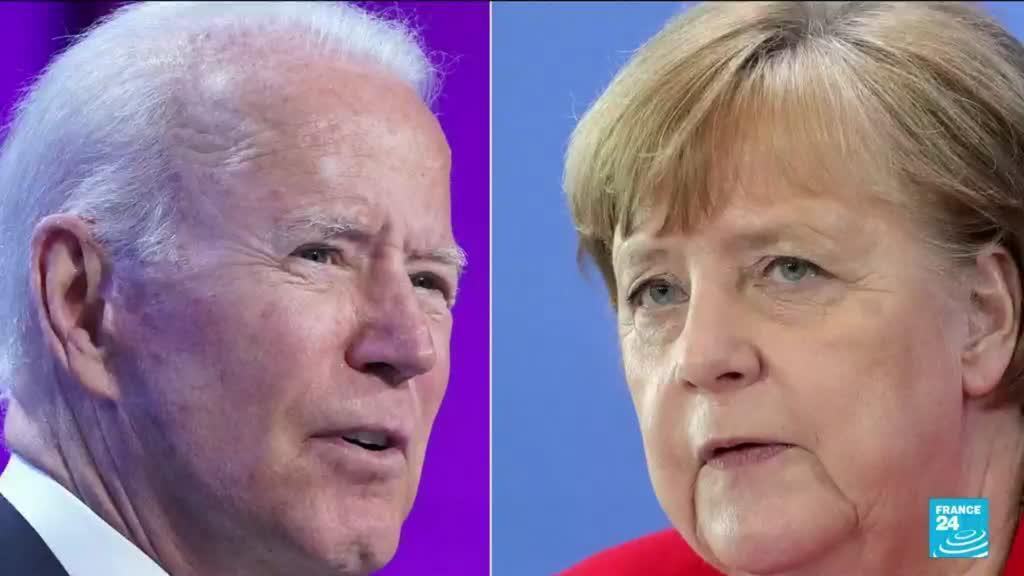 2021-07-15 14:34 Angela Merkel à la Maison Blanche : Biden veut consolider sa relation avec Berlin