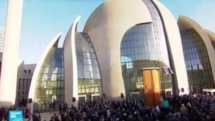 مسجد كولونيا بألمانيا -29 ستبمبر/أيلول 2018