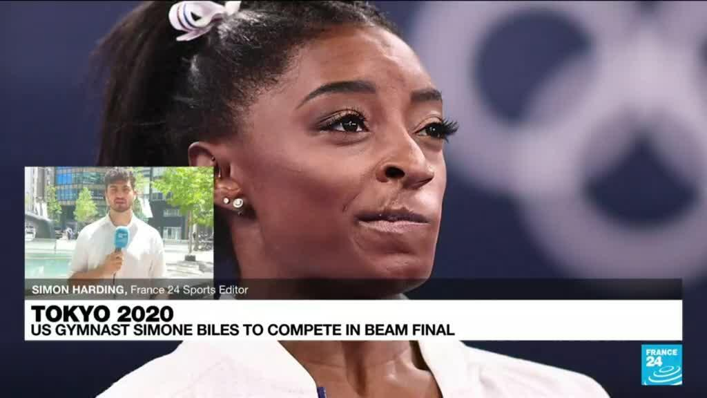 2021-08-03 08:12 Tokyo Games: US gymnast Simone Biles to compete in beam final