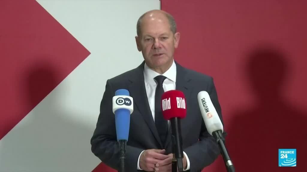 2021-10-06 18:18 Allemagne : le SPD va discuter avec les Verts et le FDP en vue d'une coalition