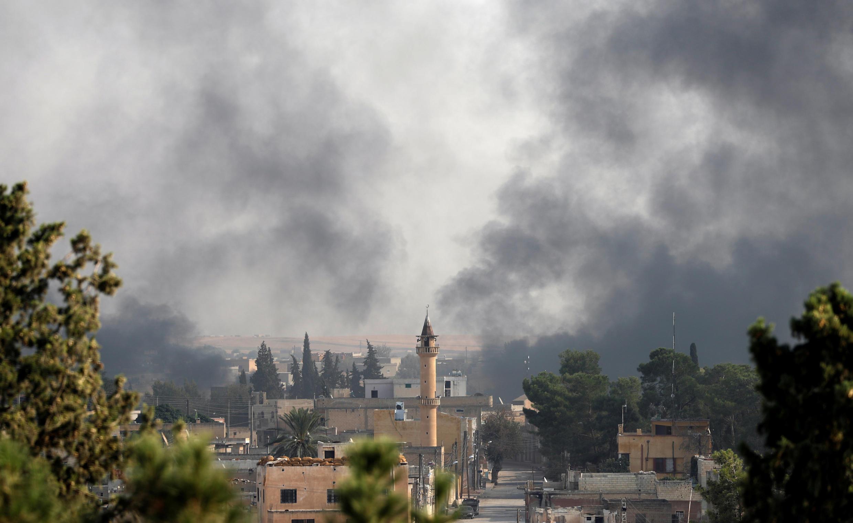 Syria Turkey Tel Abyad offensive