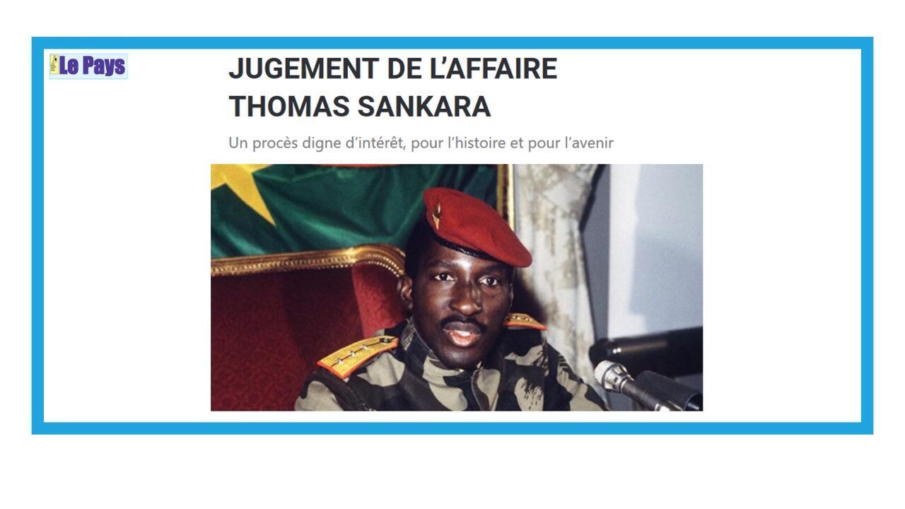 Ouverture du procès des assassins présumés de Thomas Sankara au Burkina Faso