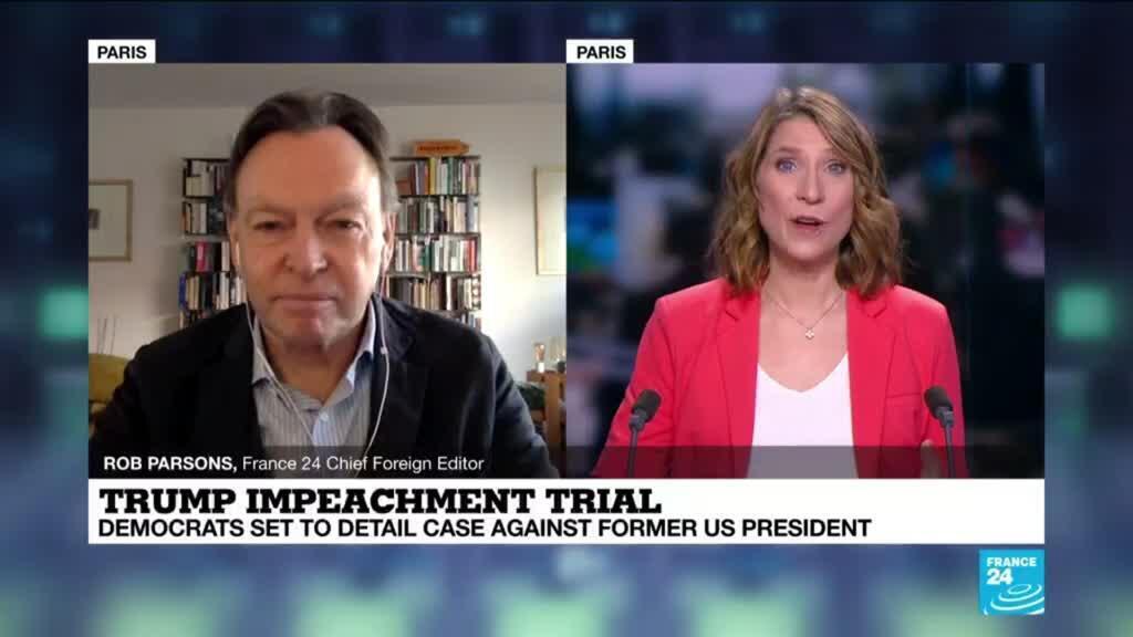 2021-02-10 11:02 Democrats set to detail impeachment case against Trump