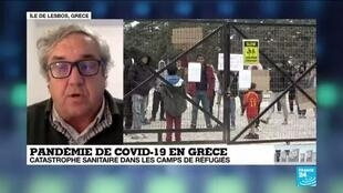 2020-04-11 16:32 Covid-19 : à Lesbos, catastrophe sanitaire dans les camps de réfugiés