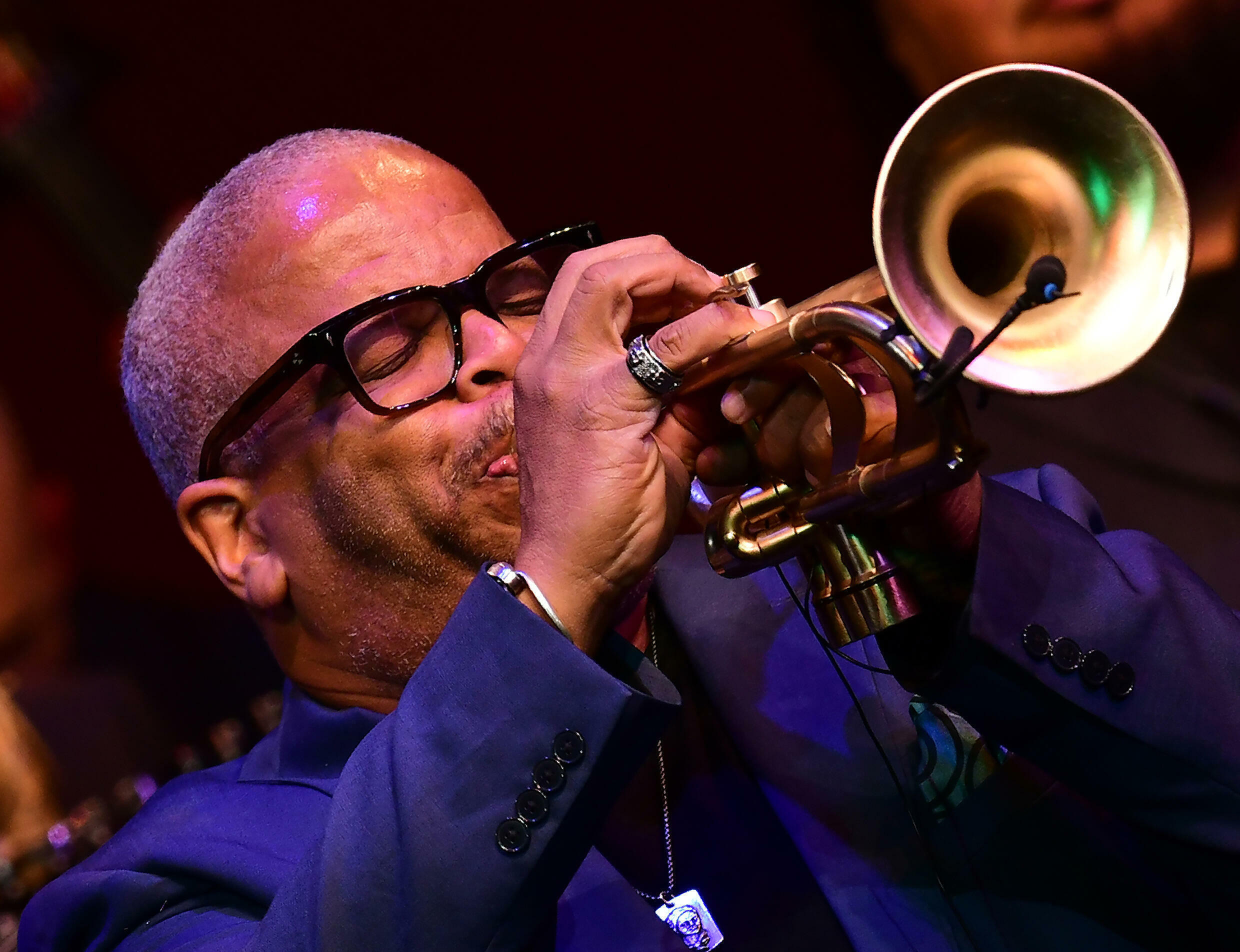 Terence Blanchard, seen here in concert at the Kennedy Center in 2019, has scored dozens of films over the course of his long career