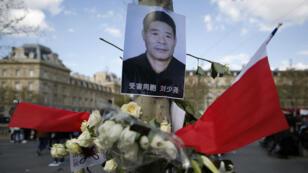 La mort de Liu Shaoyao a provoqué plusieurs manifestations de la communauté chinoise à Paris.