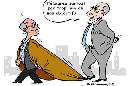 كاريكاتور المرزوقي