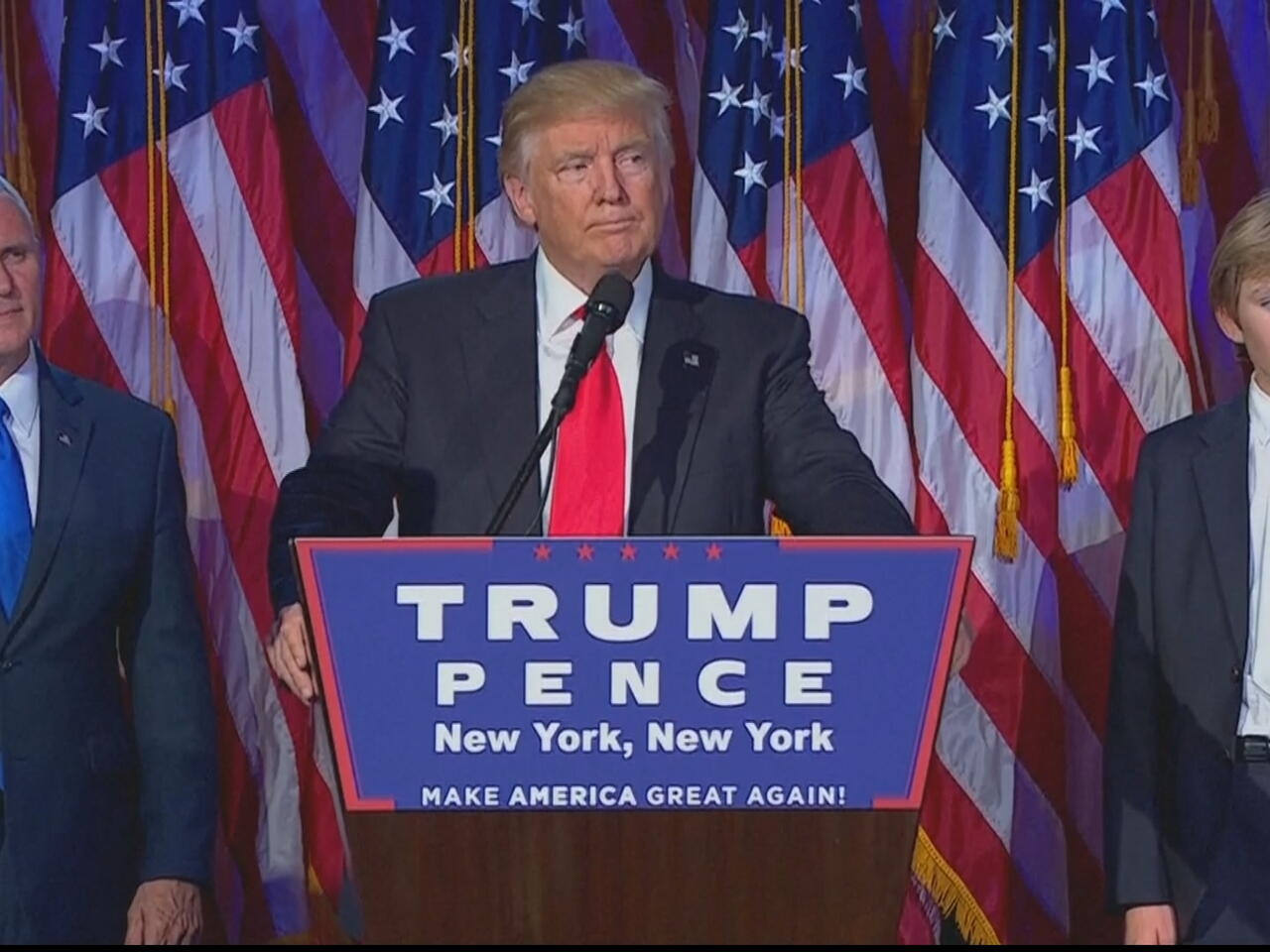Donald Trump Presumes Victory Ahead of Election Results