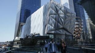 """""""The Shed"""" (""""La Remise""""), se présente comme """"le pouls culturel"""" des Hudson Yards"""