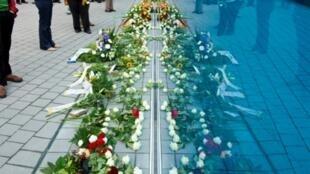Hommages aux victimes d'euthanasie sous le 3e Reich, à Berlin, le 2 septembre 2014