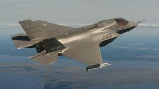 """Un avion de type """"Joint Strike Fighter"""" utilisé par l'armée norvégienne."""
