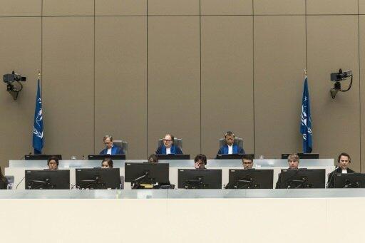 المحكمة الجنائية الدولية ملتئمة في لاهاي في 6 تموز/يوليو 2017