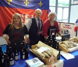 Veteran campaigner Lucien hasn't missed a single party conference in 40 years. He spent this one selling saucisson and wine.