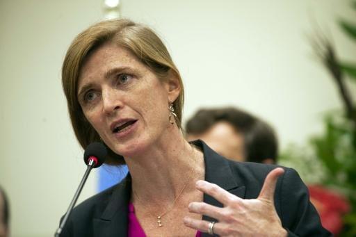 السفيرة الأمريكية لدى الأمم المتحدة سامنثا باور