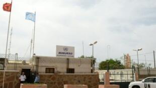 """مقر البعثة الأممية """"المينورسو"""" في الصحراء الغربية"""