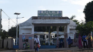 Centre hospitalier de Sokodé, deuxième ville du Togo.