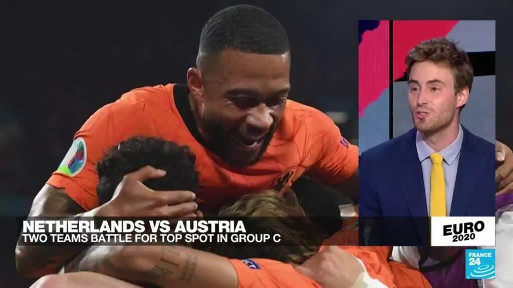 2021-06-17 23:51 Euro 2020:  Netherlands beats Austria 2-0