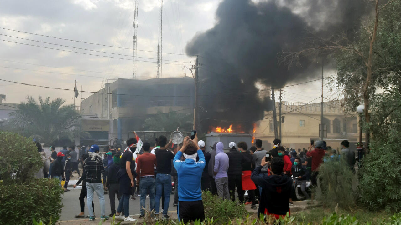 28112019 IRAQ PROTESTS