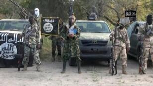 """الصورة من فيديو دعائي لجماعة """"بوكو حرام"""""""
