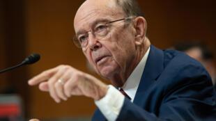 El secretario de Comercio de EEUU, Wilbur Ross, comparece ante un subcomité del Senado, en Washington, el 5 de marzo de 2020