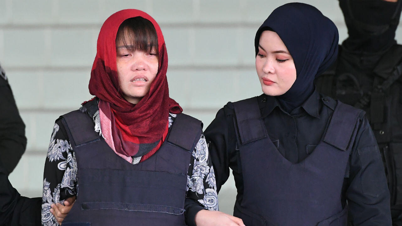 Doan Thi Huong est sortie effondrée du tribunal de Shah Alam, près de Kuala Lumpur, jeudi 14mars2019.