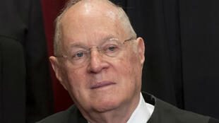 Le juge Anthony Kennedy en juin 2017 à Washington.