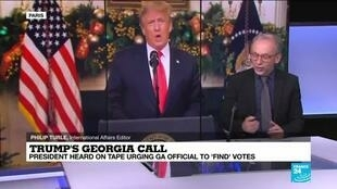 2021-01-04 14:08 US presidential election: Trump's made-up claims of fake Georgia votes