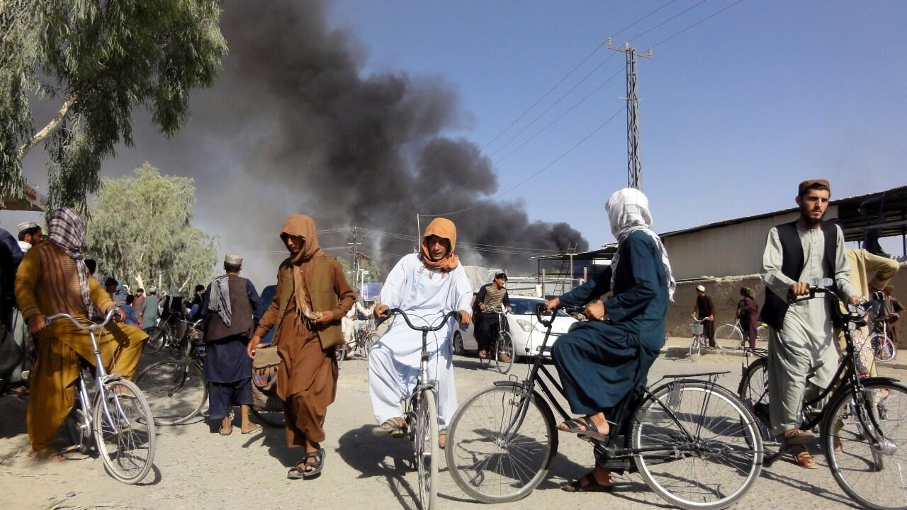 Taliban capture two major cities, tightening insurgent grip on Afghanistan