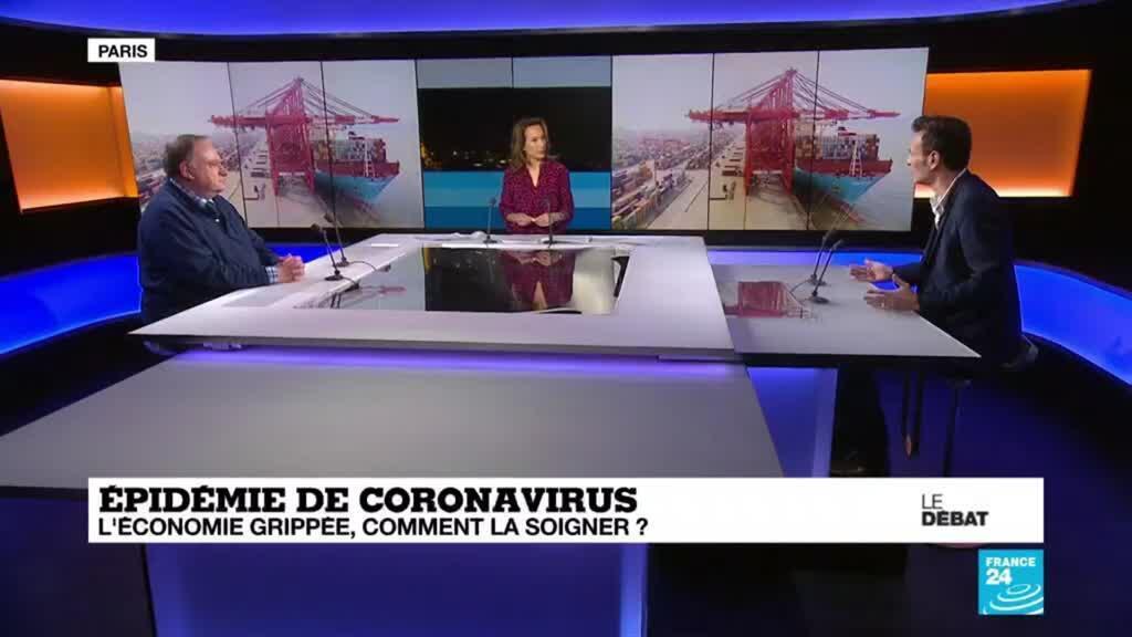 2020-03-10 19:39 LE DÉBAT - Coronavirus : l'économie grippée, comment la soigner ?