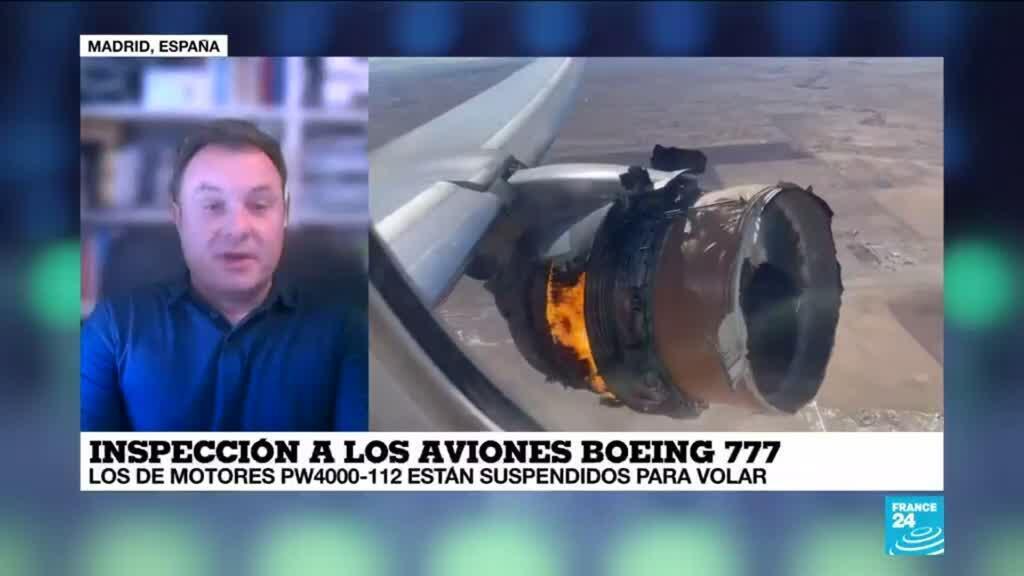 """2021-02-23 13:34 Carlos San José: """"Ha sido una reacción muy rápida tanto de la FAA como de Boeing"""""""