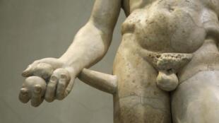Photo d'illustration – Statue d'Héraclès de la collection du musée de l'Ermitage de Saint-Pétersbourg.