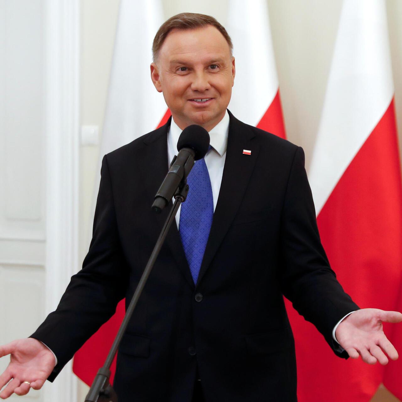 Polish President Andrzej Duda Wins Re Election