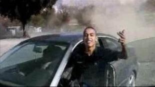 الصورة من فيديو سابق لمحمد مراح تم تداوله على الإنترنت وقت الاعتداءات