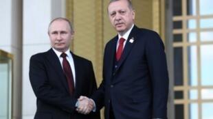 أردوغان وبوتين في أنقرة