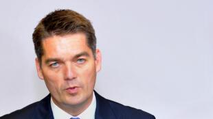 Poul-Erik Hoyer Larsen of Denmark was first elected BWF president in 2013