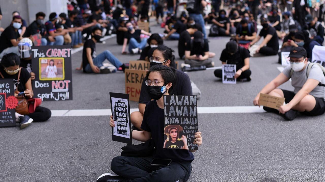 Malaysians stage anti-govt protest despite Covid curbs