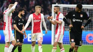 Face à l'Ajax Amsterdam, l'Olympique Lyonnais n'a jamais semblé capable de retourner la situation.