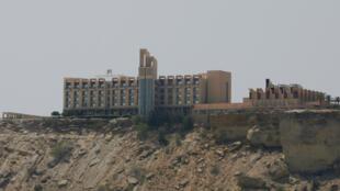 Foto de archivo de la vista general del hotel Pearl Continental en la localidad de Gwadar, provincia de Baluchistán, Pakistán, el 11 de abril de 2017.