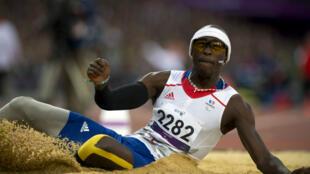 Jean-Baptiste Alaize lors des Jeux paralympiques de Londres en 2012.