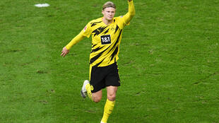 Haaland scored four goals on Saturday