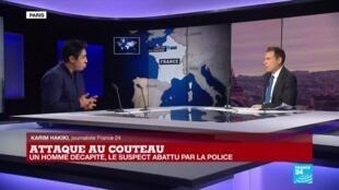 2020-10-16 19:01 Attaque au couteau près de Paris : un homme décapité, le suspect abattu par la police