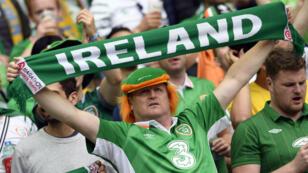 Les supporters irlandais seront entre 20 et 30000 à Lyon, dimanche 26 juin.