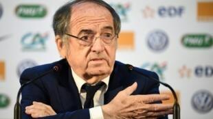 Le président de la Fédération française de football, le 14 juin 2018 Istra