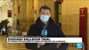 2021-02-02 14:06 French ex-PM Balladur on trial over 'Karachi affair' kickbacks