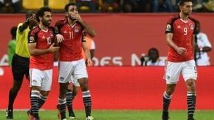 فرحة المصريين بالفوز والتأهل,