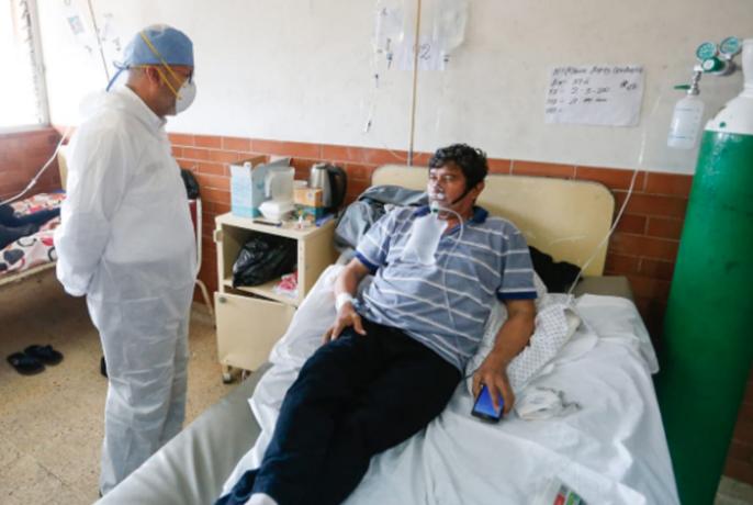 Según las estadísticas del Gobierno peruano, Loreto es la tercera región con más índice de letalidad en el país (9.20%). Otras regiones con porcentajes altos son Piura (10,22%) y Lambayeque (9,76%). En ellas y en Ucayali (5.32%), los hospitales también han colapsado.