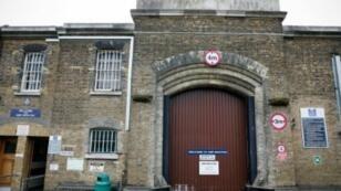 """مدخل سجن """"إتش إم"""" في لندن في 2015"""