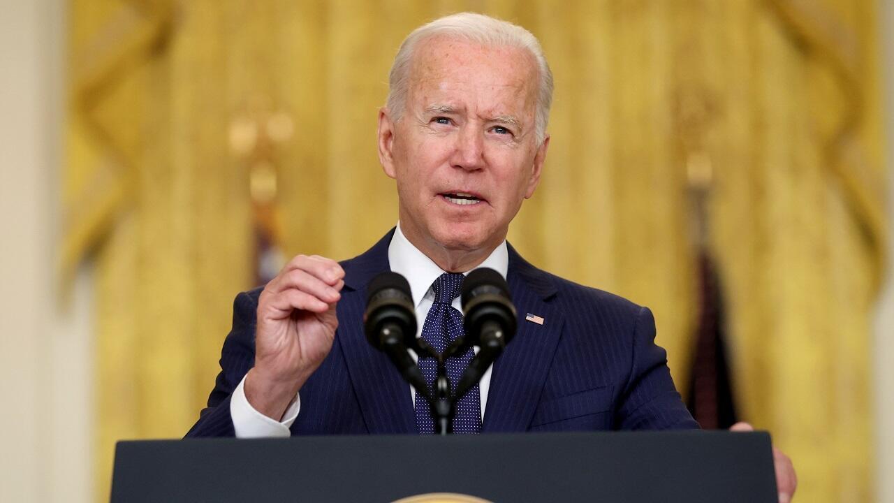 PHOTO Joe Biden discours - 26 août 2021