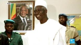 L'ancien ministre de la Défense Bah Ndaw a été nommé président du Mali par intérim, lundi 21 septembre.